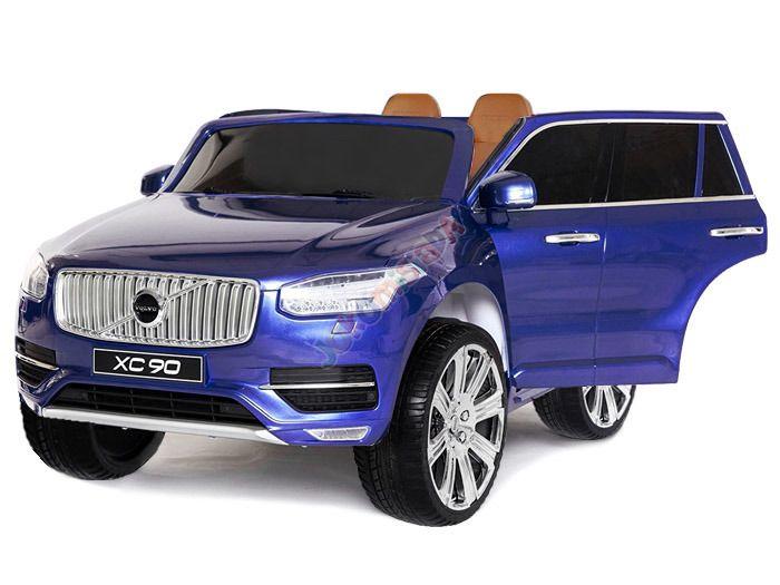 Hračky | Elektrická auta | elektrické autíčko Volvo XC 90 modré | Bábätkovo.eu