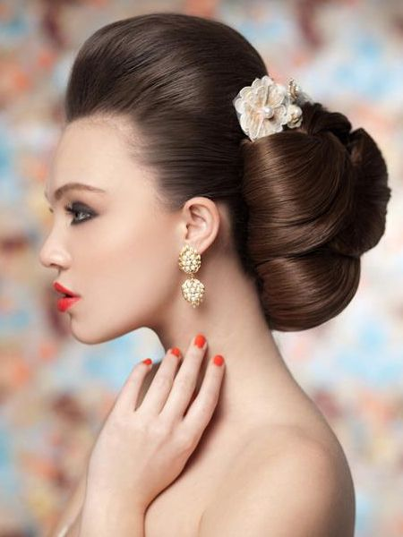 Classic Bridal Updo Hairstyle : 29 best images about our international brides on pinterest groom