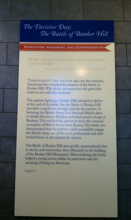 battle of bunker hill where is bunker hill  the battle of bunker hill museum