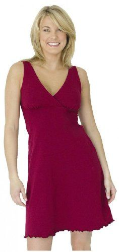 Majamas Nursing  Maternity Organic Sleepy Dress Merlot XLarge -- Click on the image for additional details.Note:It is affiliate link to Amazon.