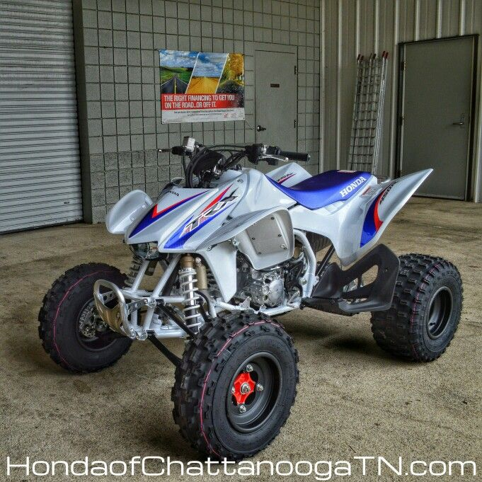 Honda TRX450R Sport ATV Sale at Honda of Chattanooga. TN / GA / AL area Honda PowerSports Dealer offering Discount prices since 1962!  Check out our wholesale Honda ATV / Four Wheeler Prices at www.HondaofChattanoogaTN.com