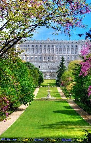 el palacio royal de Madrid, España