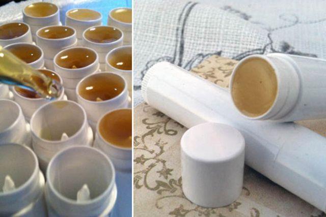 Fabriquer des baumes à lèvres Lypsyl maison