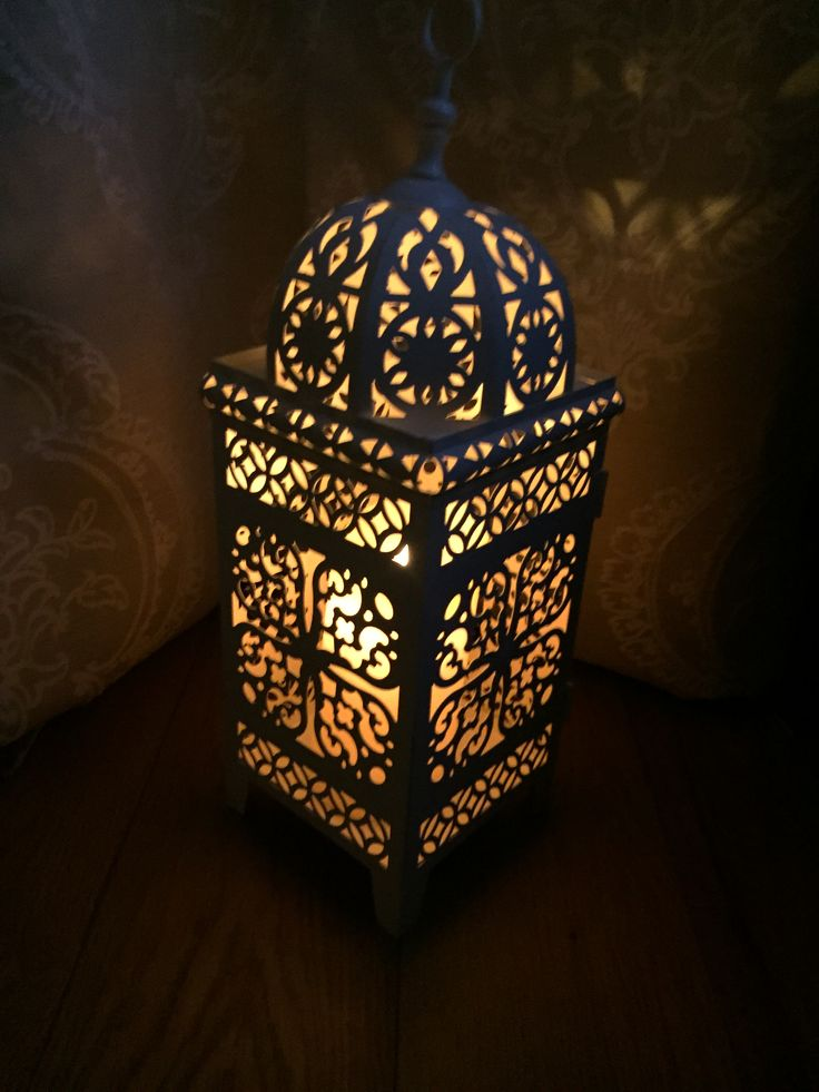 Love Our New Moroccan Floor Lamp Setting The Tone. The Imitation Candle  Inside Is So