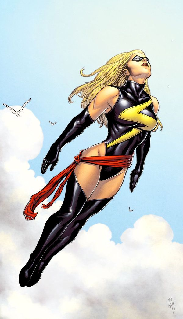 Ms Marvel by Frank Cho, Roland Paris, & Simon Gough