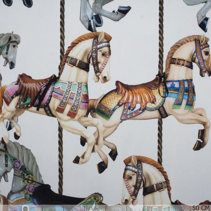 Panel & Border Pattern - Carrousel Terry Digital - - €11.16 & Best Price Order today on Textielstad