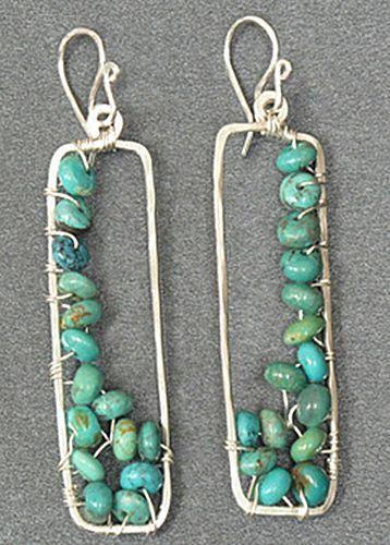 手机壳定制shop handbags silver rectangle frame wire wrapped earrings whole soul jewelry