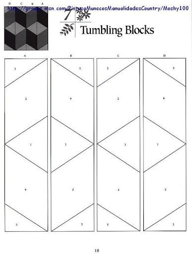 Tumbling Blocks pp pattern