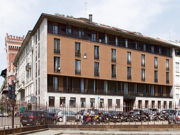 Luigi Caccia Dominioni, Casa Caccia Dominioni, 1947-1949, Milano