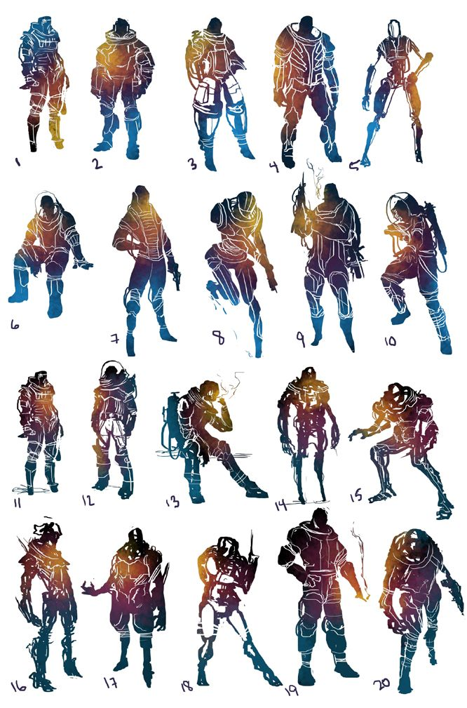 Best Character Design Artists : Best images about d silhouettes on pinterest concept
