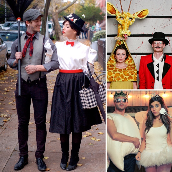 Creative and Cute Halloween Couples Costume Ideas. It's not even close to Halloween, but as some of these are really cute!