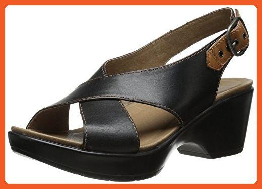 Dansko Women's Jacinda Dress Sandal, Black, Size - 38 - Sandals for women (