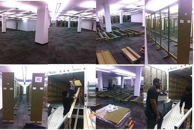 2012 Maps, Data and Government Information Centre (MADGIC) relocation move. Isaac F.