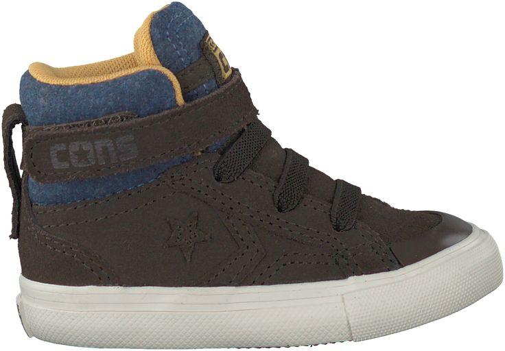 stijlvolle Bruine Converse Sneakers PRO BLAZE STRAP HI KIDS