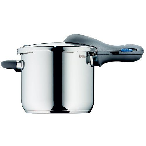 WMF Perfect Plus Pressure Cooker 6.5ltr 22cm diameter 18/10 stainless steel WMF http://www.amazon.co.uk/dp/B00008XWYR/ref=cm_sw_r_pi_dp_bEA0vb1Q9MEVY