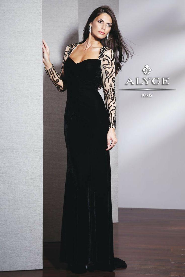24 best Black Evening Dress images on Pinterest | Black evening ...
