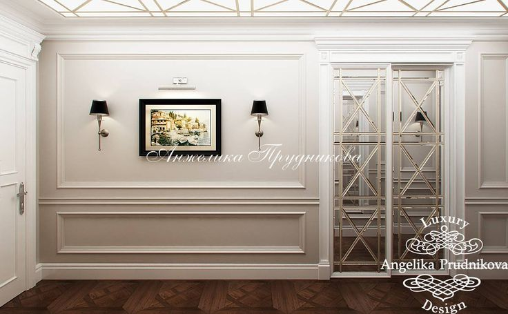 Интерьер квартиры в ЖК Алые Паруса в классическом стиле - фото