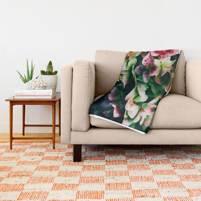 Treasure of Nature II Throw Blanket by Mixed Imagery | Society6