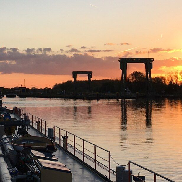 #sun#sunset#pluto#dorsten#wdk#wesel#datteln#kanal#kanaal#mazzel