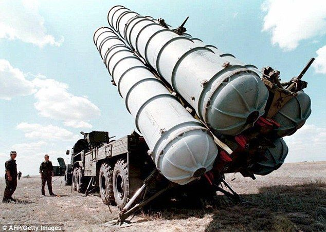 U.S. screws Israel again! Opens big mouth about Israel carrying out air strike on Russian missiles inside Syrian air base 'that were destined for Hezbollah'. Russian S-300 missiles at a military training ground in Russia which were sent to Syria in May as part of a more sophisticated system.