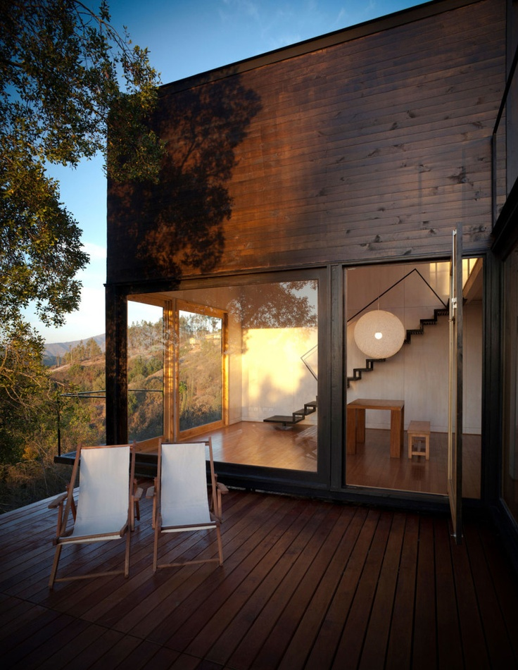 Bathroom, Bedroom, Houses As Section Of Pangal Cabin By EMa Arquitectos And Related In Cabin, Casablanca Pangal Cabin 04: Pangal Modern Minimalist Cabin by EMa Arquitectos