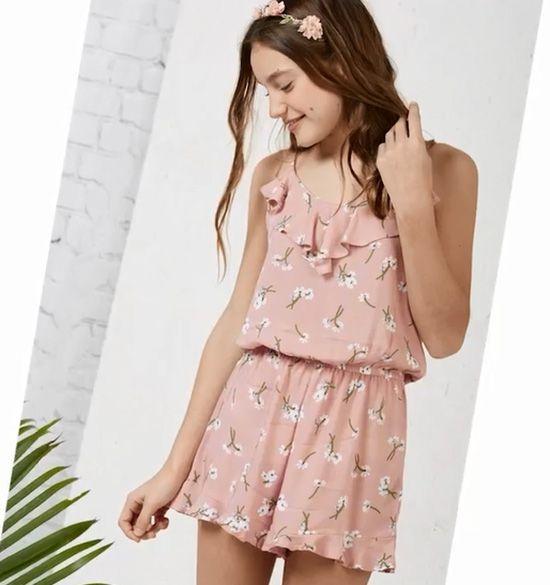 2e78c5f3d Moda monos 2018. Moda verano 2018 para niñas. | baby clothes / ropa ...