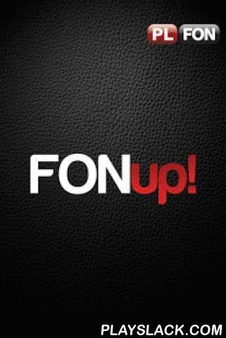 FONup!  Android App - playslack.com , FONup! to wszechstronny komunikator dla użytkowników telefonów z Androidem, IOS, oraz BlackberryUwaga – za każdą poleconą przez Ciebie osobę doładowujemy Twoje konto kwotą 10 zł na połączenia poza aplikacją!Dzięki tej aplikacji możesz czatować, dzwonić oraz prowadzić rozmowy wideo (między użytkownikami FONup!) bez żadnych kosztów, przez 3G lub WiFi. Dodatkowo (również bezpłatnie) możesz przesyłać pliki, w tym zdjęcia i filmy.Aplikacja jest bardzo…
