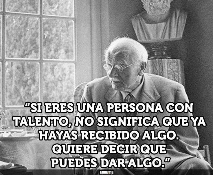 18 frases inspiradoras del psicólogo Carl Jung - Taringa!