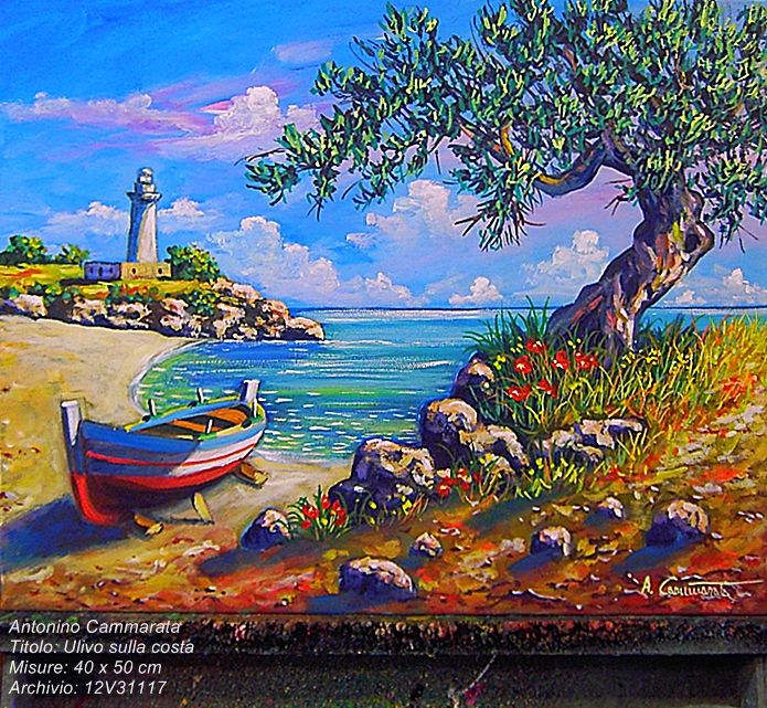 Quadri del pittore Cammarata acquisto e commissione opere