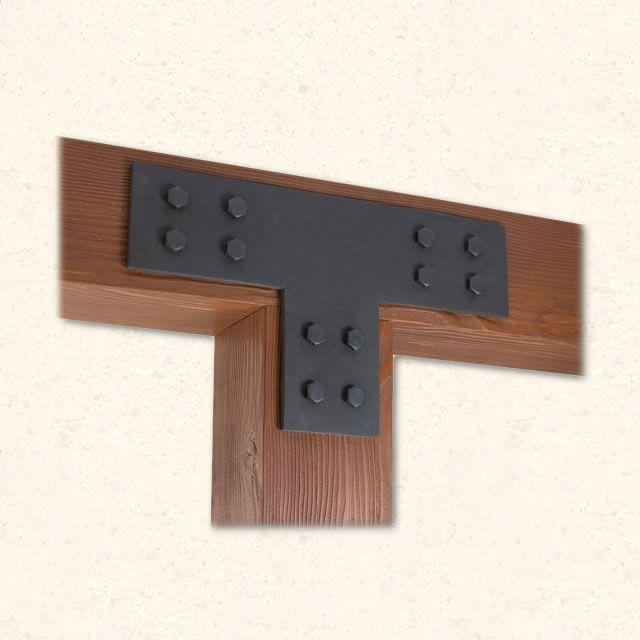 iron brackets for wood beams bing images. Black Bedroom Furniture Sets. Home Design Ideas