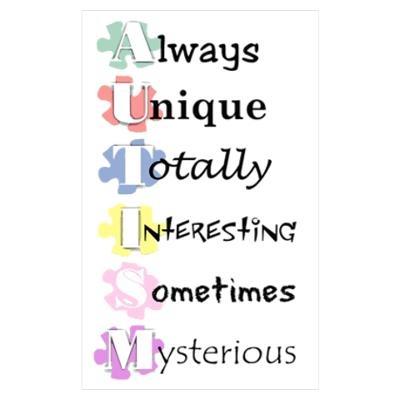 Autism Awareness Poster   Autism   Pinterest