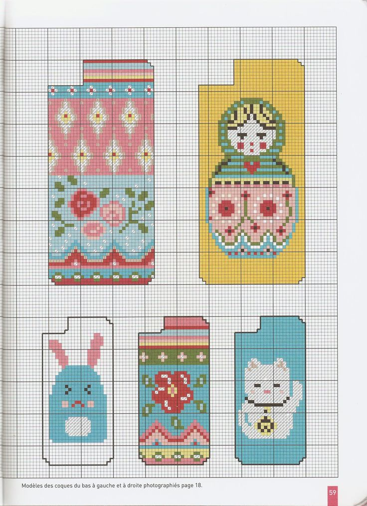 Small chart for cross stitch, knitting, knotting, weaving, pixel art, and other crafting projects.