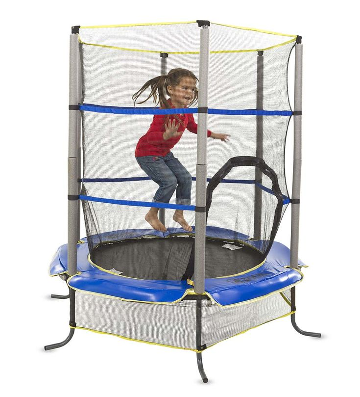 "55"" Enclosed Trampoline (3-4-5+Y)"