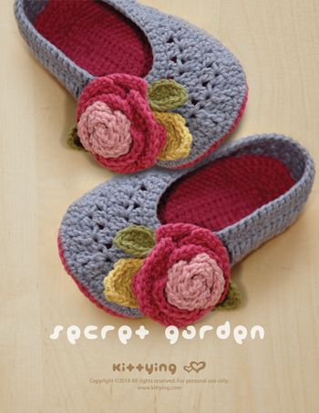 Secret Garden Women's House Ballerina Crochet Pattern