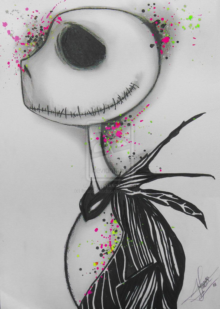 The nightmare before christmas by brunoarandap on deviantART