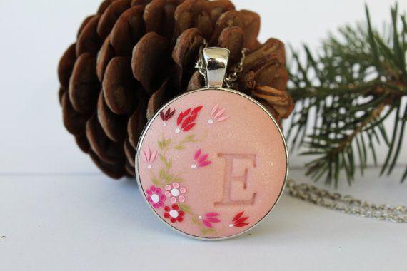 Personalizzato iniziale collana collana di LandOfJewellery su Etsy