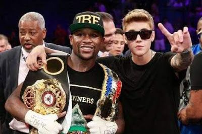 Famous Floyd Mayweather is angry that his friend Justin Bieber is following Jesus Christ.