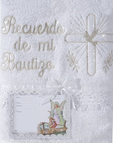 RECUERDO DE MI BAUTIZO TOWEL