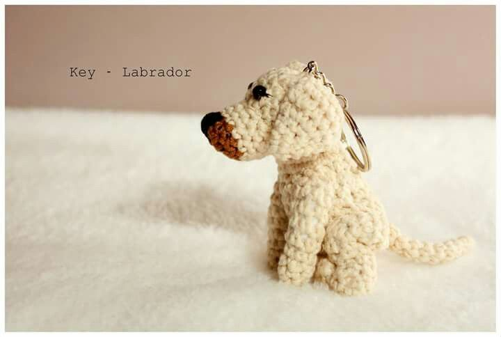 Amigurumi labrador #amigurumi #amigurumis #labrador #golden #dog #szydełkowy #crochet #brelok #pet #little