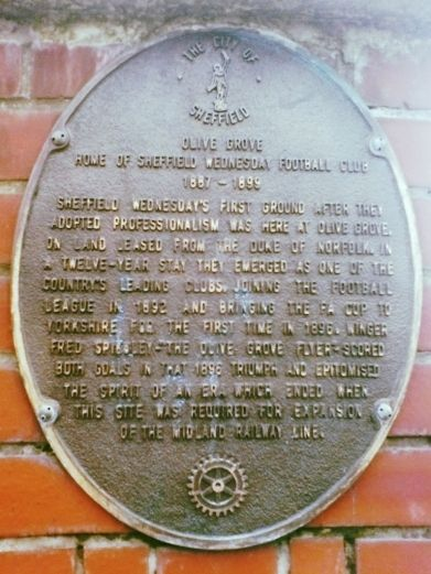 The olive grove plaque