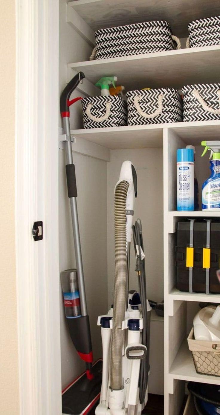 30 Handy Kitchen Pantry Closet Design Ideas Closet Remodel Cleaning Closet Organization Coat Closet Storage
