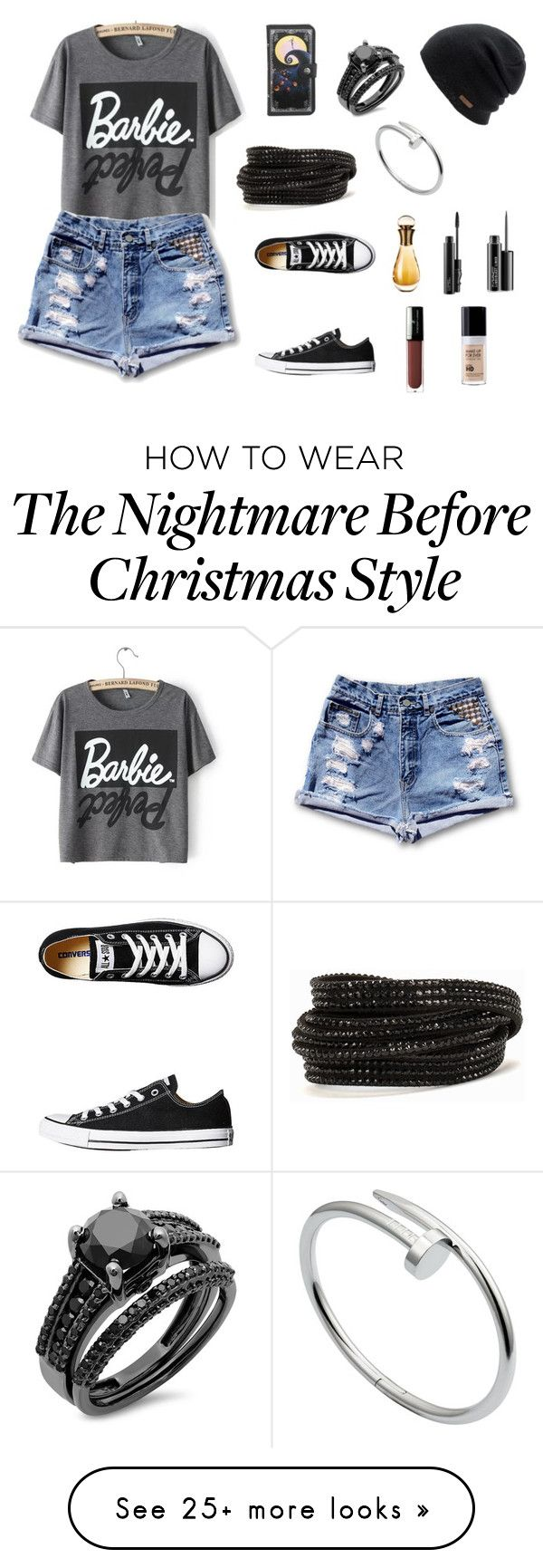 """""""Untitled #880"""" by nestor-ana on Polyvore featuring Converse, Coal, Pieces, Cartier, Christian Dior, MAC Cosmetics, Vincent Longo and MAKE UP FOR EVER"""