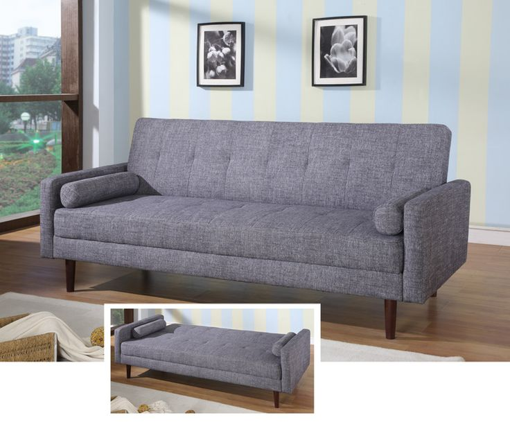 Modern Sectional Sofas KK Grey Sofa Bed by At Home USA At Home USA Furnishings Pinterest Grey sofa bed Basements and Interiors