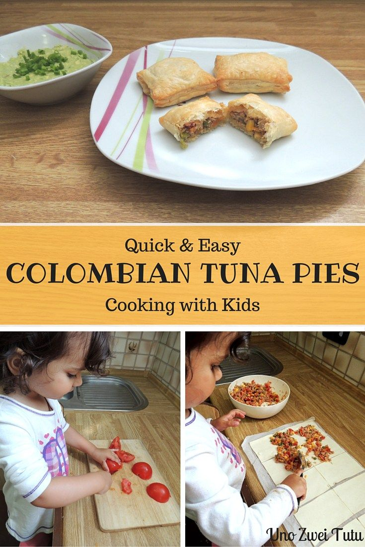 These colombian tuna pies are so easy to make that even a toddler can help. Kid-friendly, quick and healthy. Perfect for a light lunch or a snack and sure to become a family favorite.