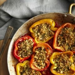 Ann Nurse's Baked Stuffed Peppers | The Daily Meal