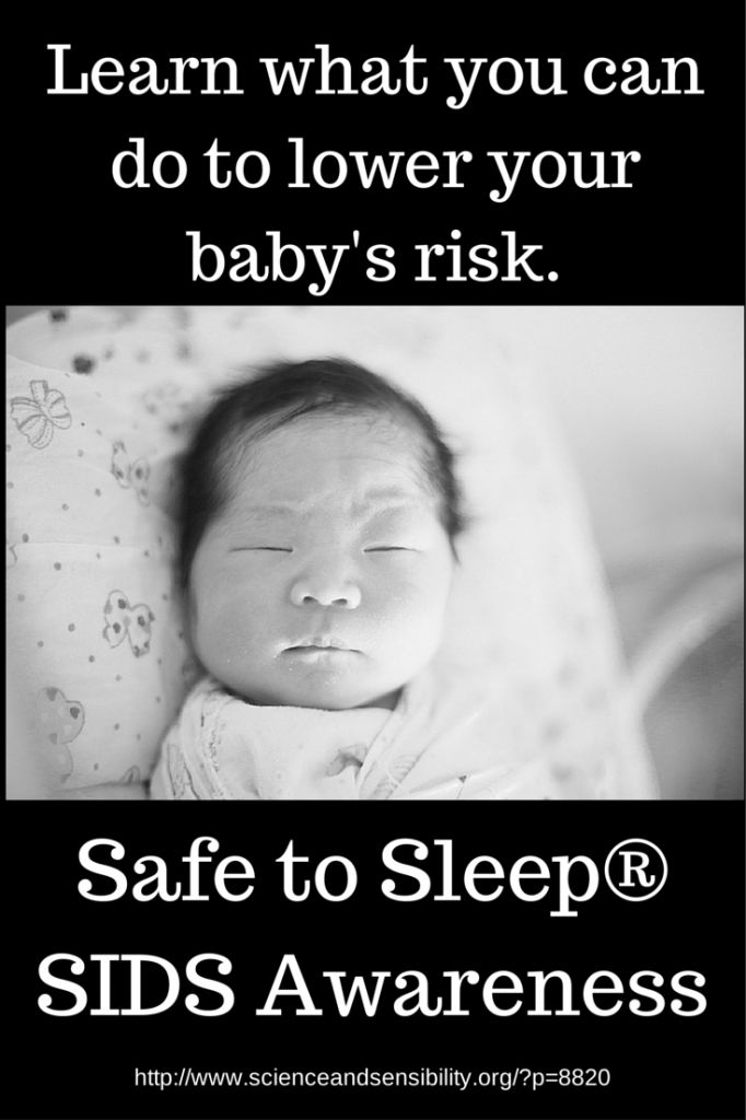 October is SIDS Awareness Month. Learn how to reduce the risk at www.Lamaze.org
