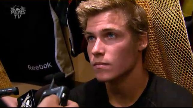 Beau Bennett  Age: 22  From: California  Plays For: The Penguins