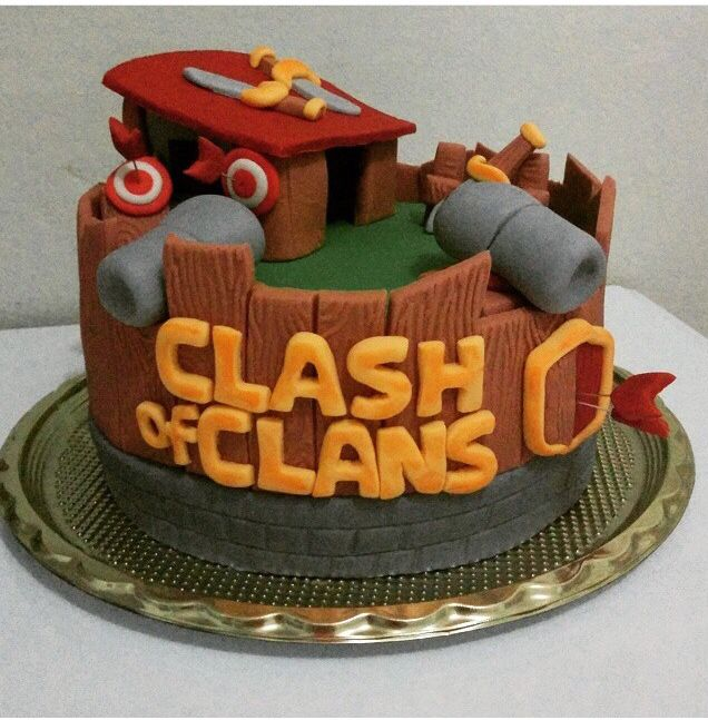 Clash of clan cake