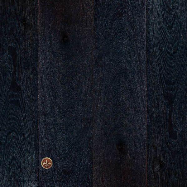 Ebony floorboards are both striking & modern