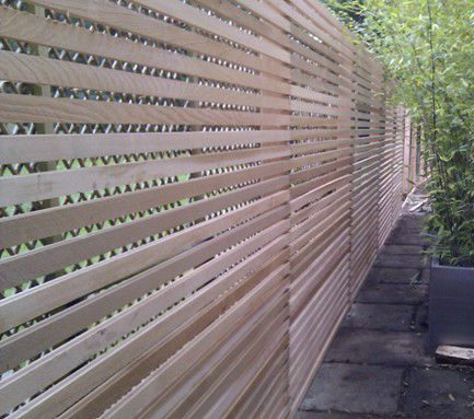 timber fence screen - Google Search